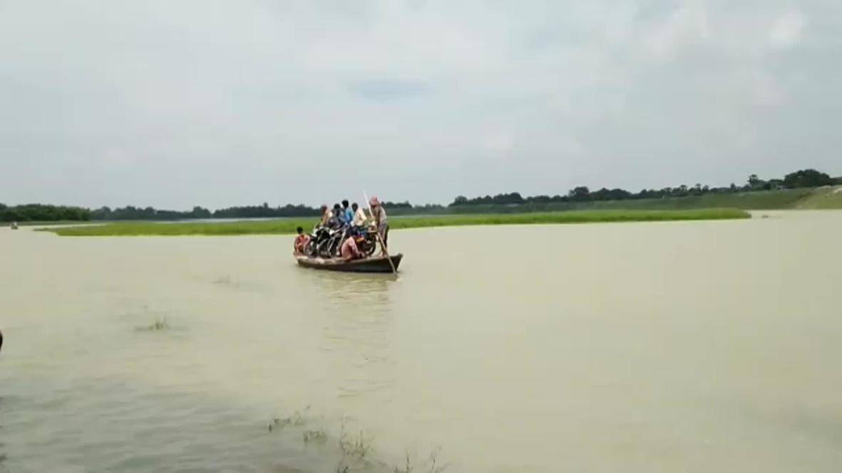 India: Eight districts in Bihar hit by flood amid heavy rainfall