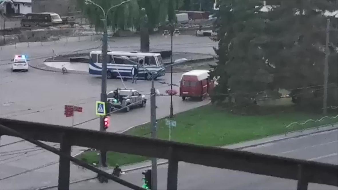 Ukraine: Lutsk gunman surrenders, all hostages released