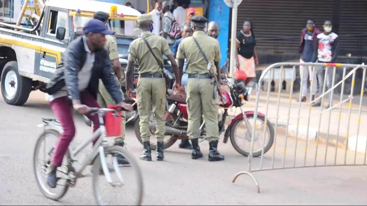 أوغندا: حظر مرور الدراجات النارية بالأجرة إلى مركز كامبالا رغم تخفيف القيود لمكافحة كوفيد-19
