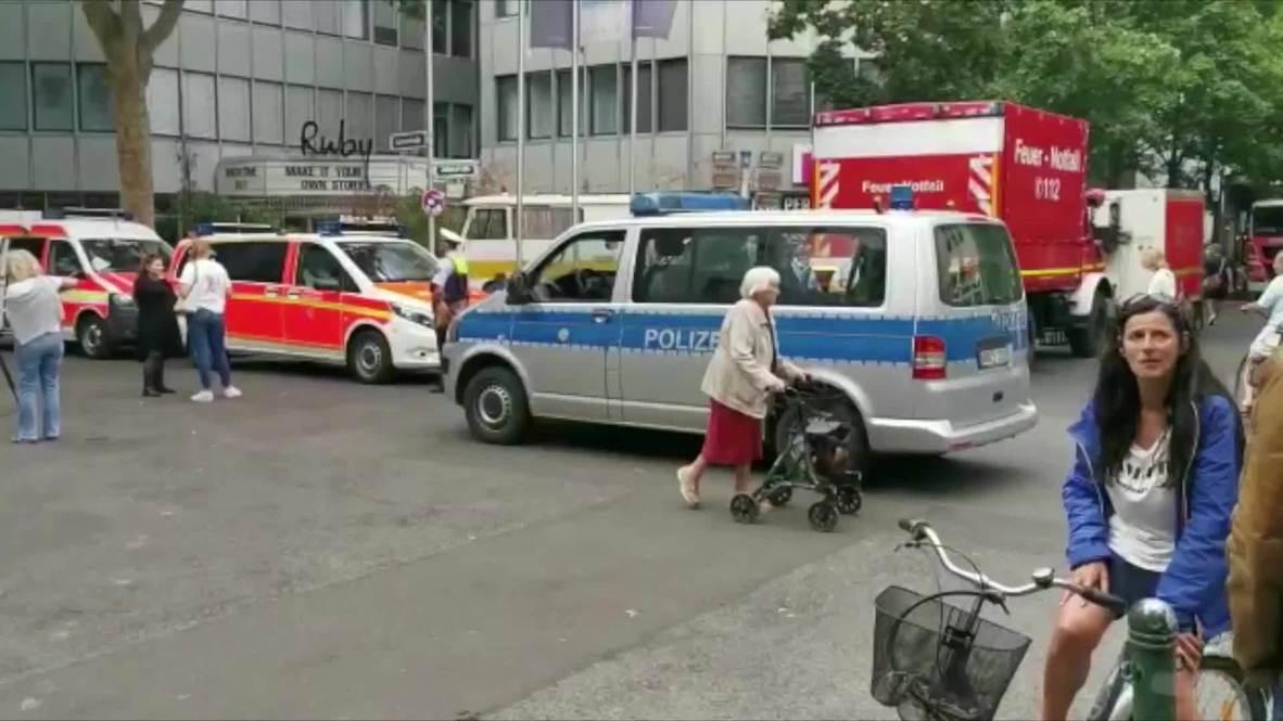 Alemania: Un muerto y un desaparecido tras el colapso de un edificio en construcción en Düsseldorf