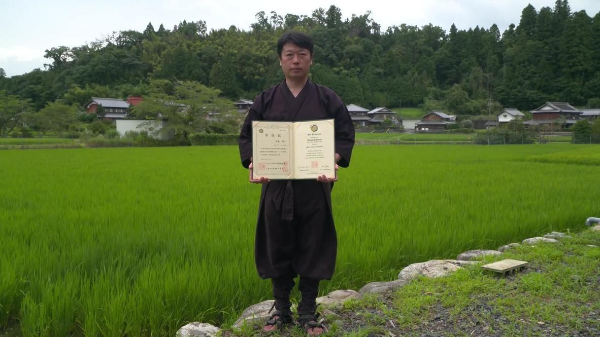 تعرف على ميتسوهاشي.. أول رجل ياباني ينال شهادة في دراسات النينجا