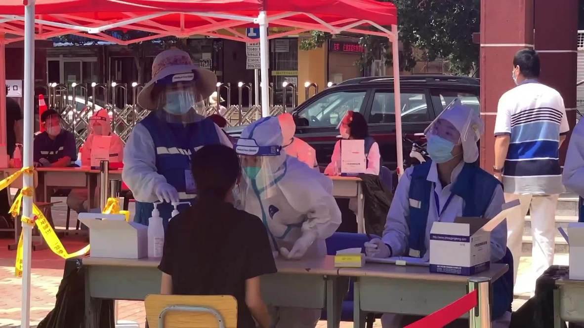 الصين: سكان مدينة داليان يخضعون لاختبارات وسط ارتفاع عدد الإصابات الجديدة بفيروس كورونا