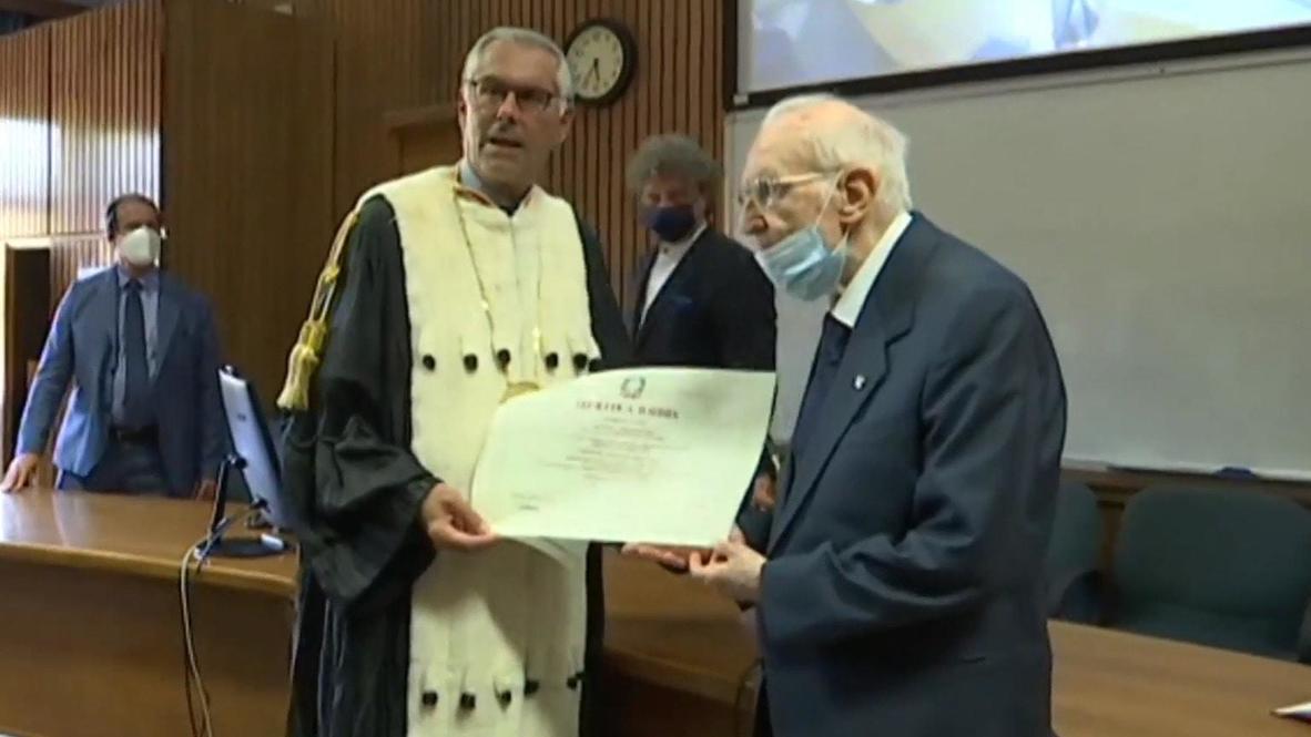 Век живи – век учись. 96-летний итальянец стал самым пожилым в стране выпускником университета