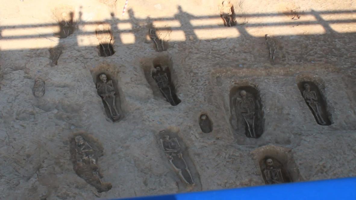 Испания: В Граньоне археологи обнаружили древний некрополь на месте проведения дорожных работ