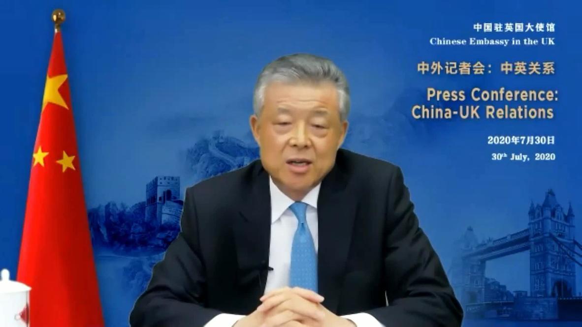 UK: Chinese ambassador says London undermined mutual trust with Hong Kong 'interference'
