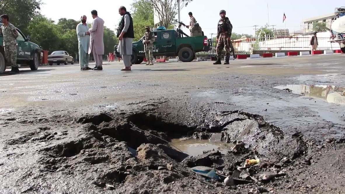 أفغانستان: مقتل 17 شخصا على الأقل جراء انفجار سيارة مفخخة عند نقطة تفتيش في مقاطعة لوغار
