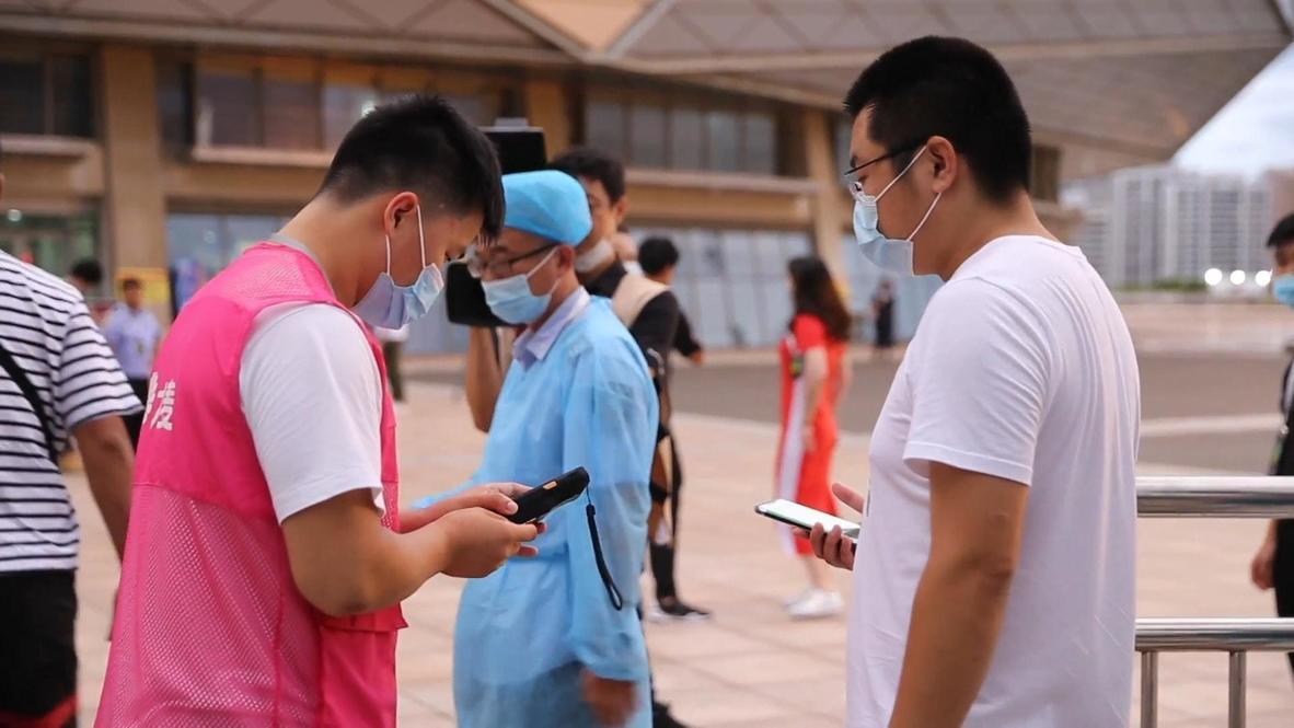 الصين: المشجعون يحضرون مباراة كرة السلة لأول مرة منذ بدء جائحة فيروس كورونا