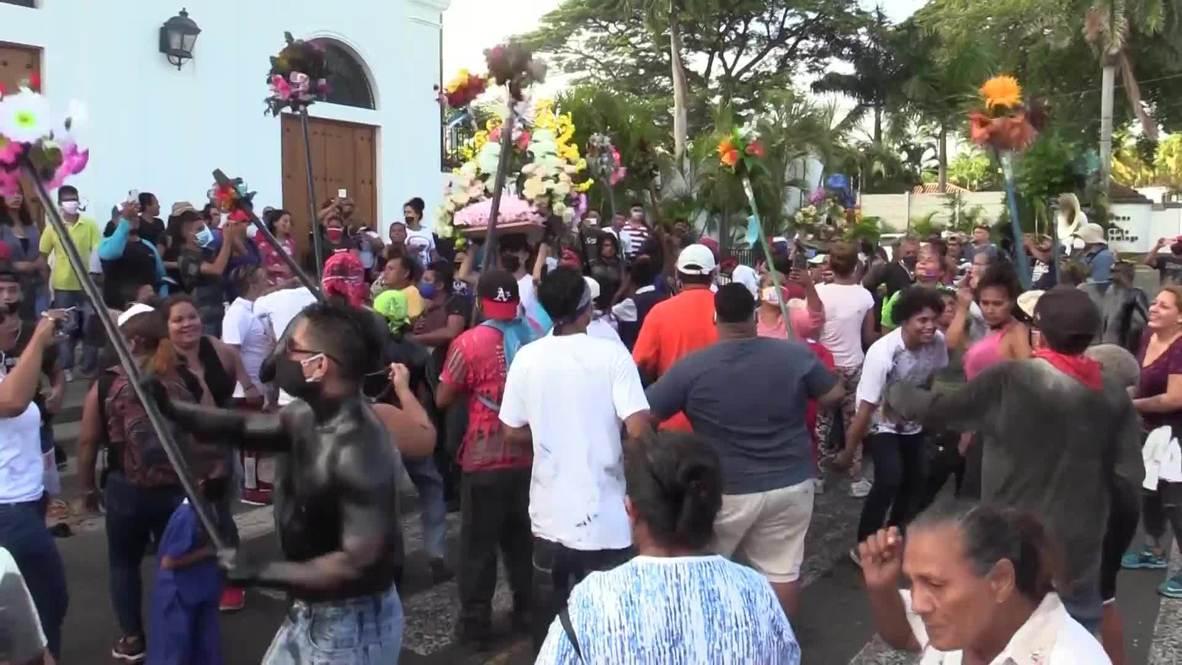 Nicaragua: Hundreds honour Managua patron Saint Dominic despite coronavirus surge