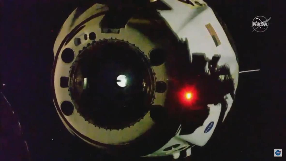 EEI: La Crew Dragon de SpaceX se desacopla de la EEI para llevar a la Tierra a 2 astronautas