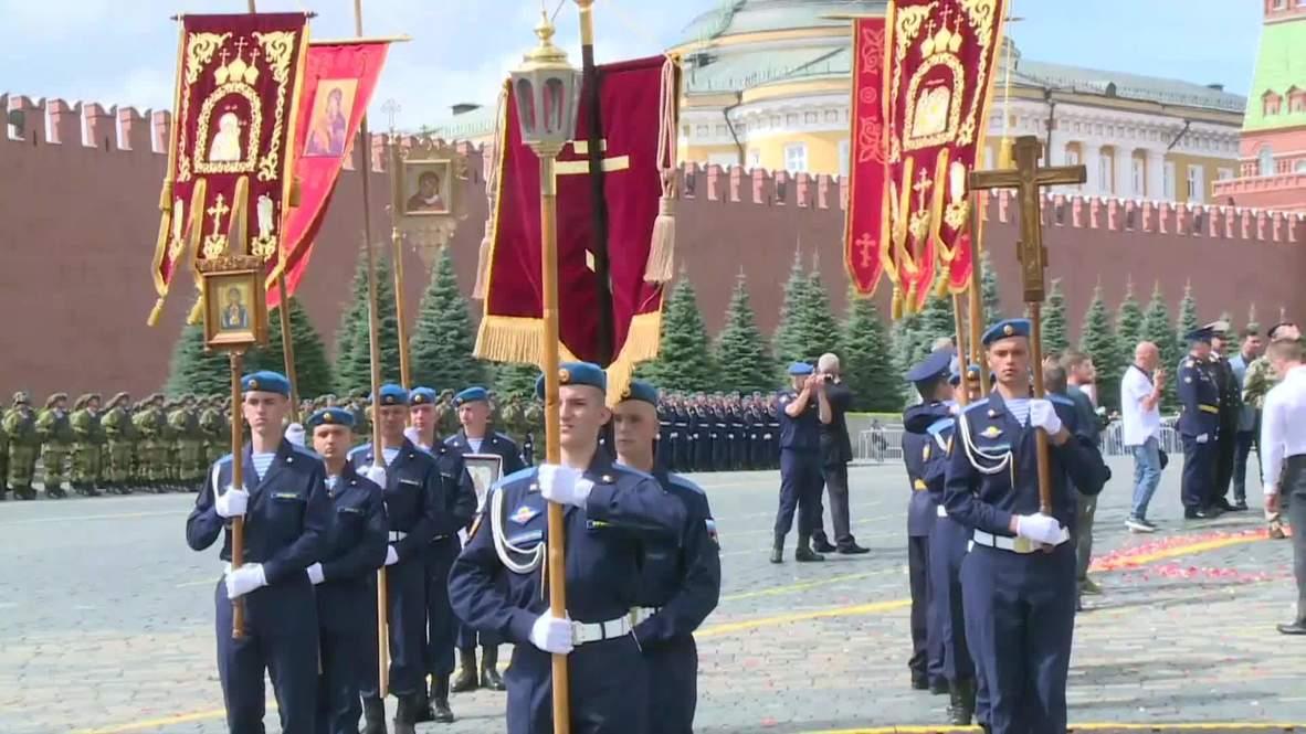 Россия: В Москве отмечают 90-летие ВДВ
