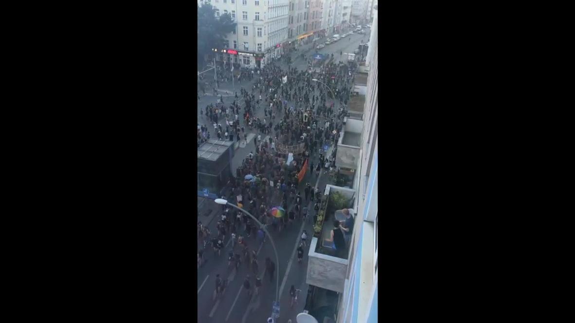 Germany: Anti-gentrification demo in Berlin's Neukolln neighbourhood broken up by police