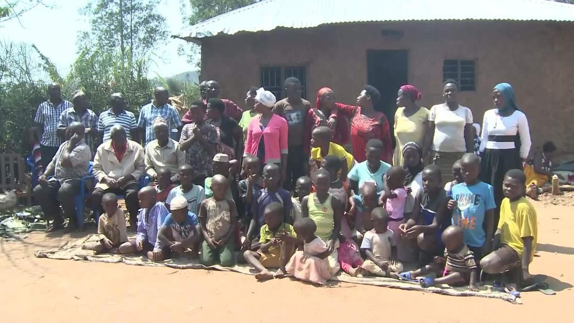 أوغندا: رجل يبلغ 100 عام يحتفل بعيد الأضحى مع زوجاته الـ20 وأطفاله الـ66