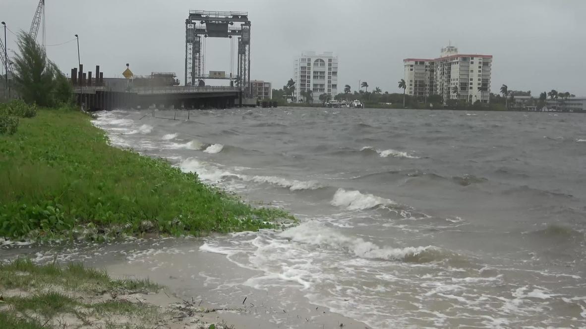 EE.UU.: Huracán Isaias trae lluvias y fuertes vientos a West Palm Beach