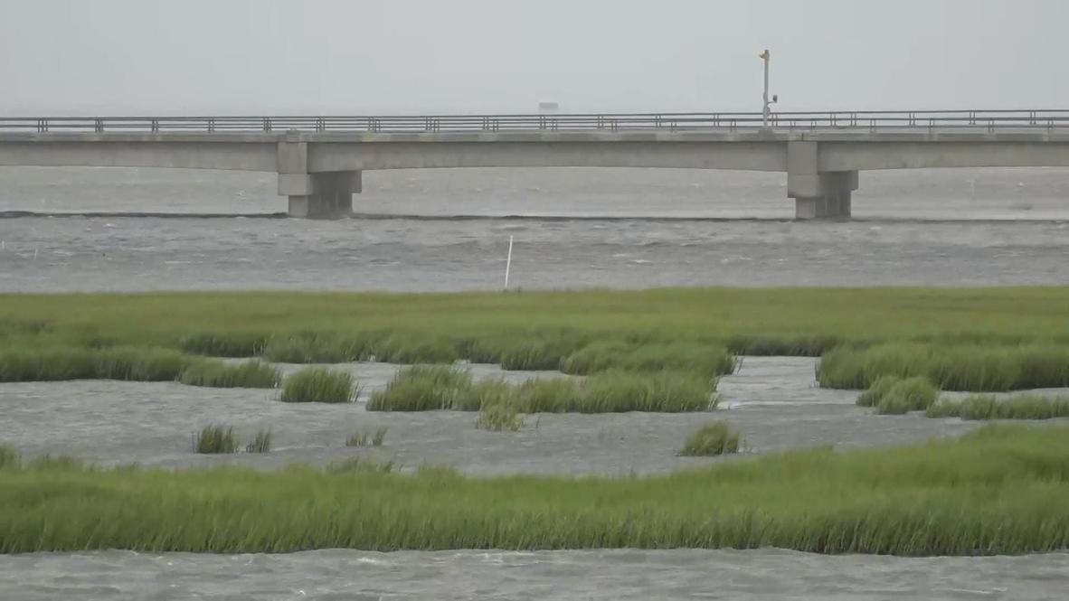 USA: Rain and strong winds hit Virginia as hurricane Isaias makes landfall