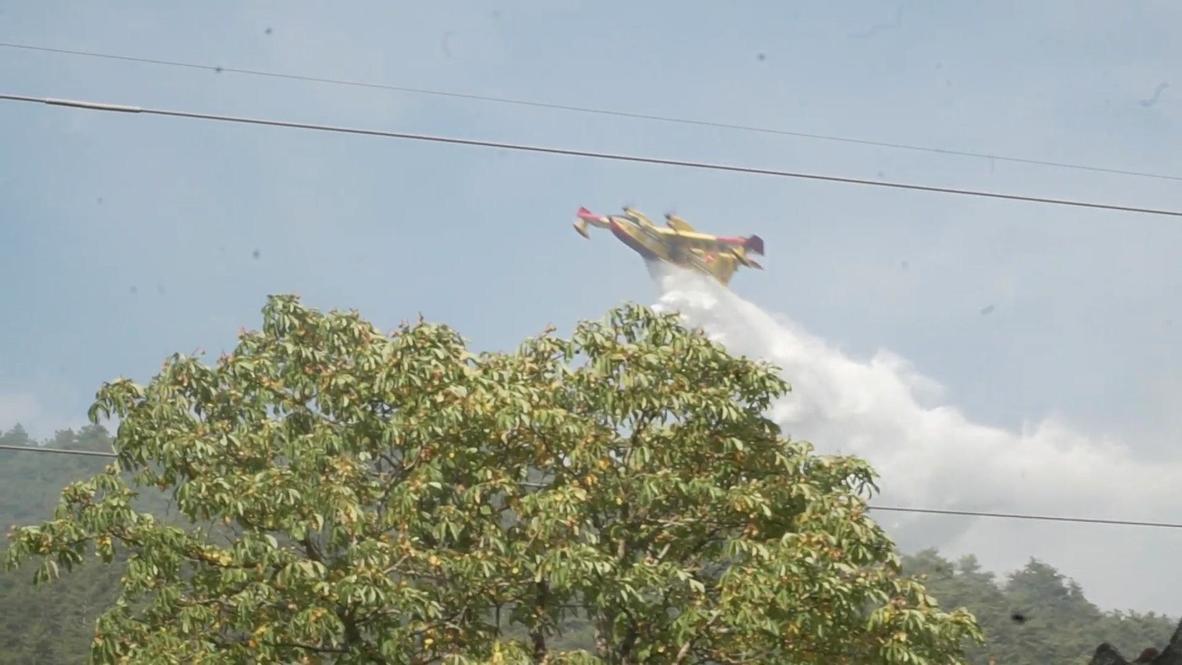 Italia: L'Aquila declara estado de emergencia mientras los incendios forestales se acercan a la ciudad
