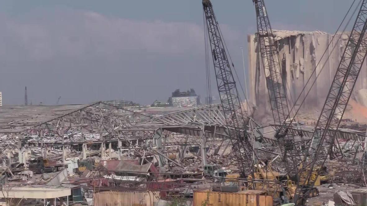 Líbano: Calles de Beirut se encuentran devastadas tras las explosiones