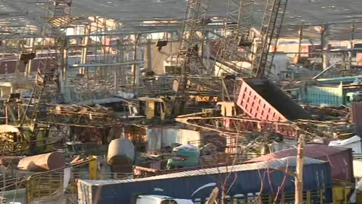 Lebanon: Beirut port blast leaves city strewn with wreckage