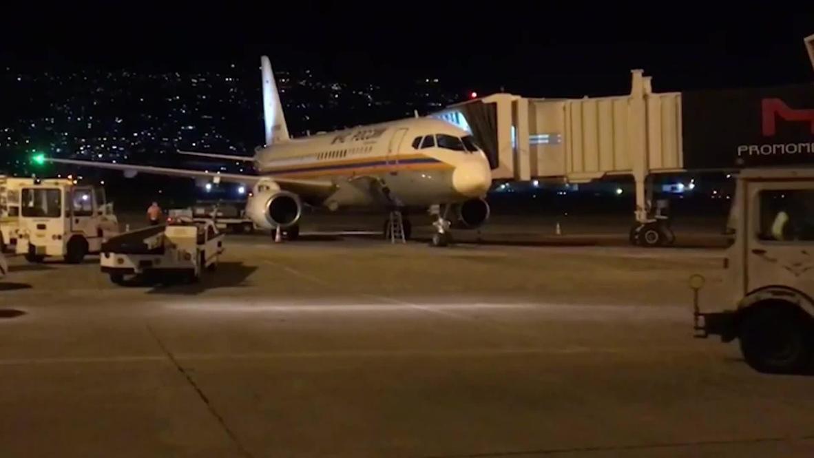 Ливан: Первый самолет с помощью из России прибыл в Бейрут