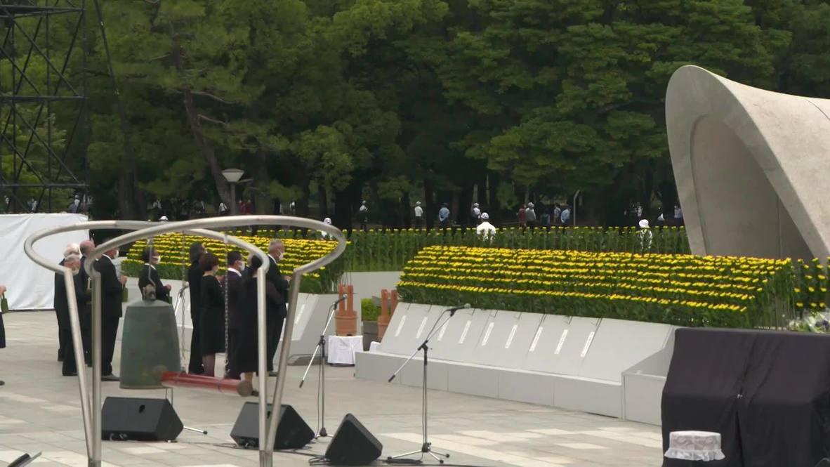 Japan: Hiroshima marks 75th anniversary of atomic bomb