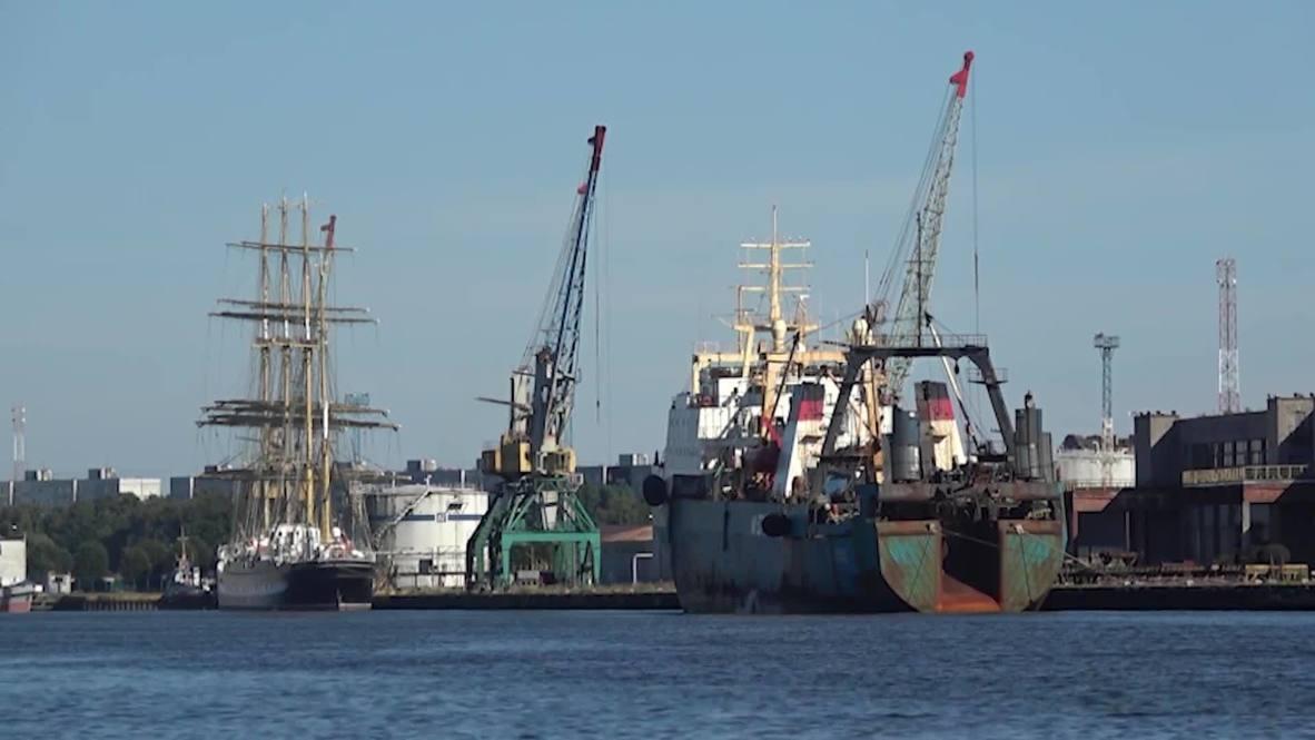 Россия: В Калининград прибыло судно с зараженным коронавирусом экипажем