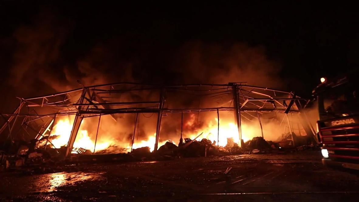 Líbano: Imágenes muestran la 'zona cero' de Beirut tras las explosiones