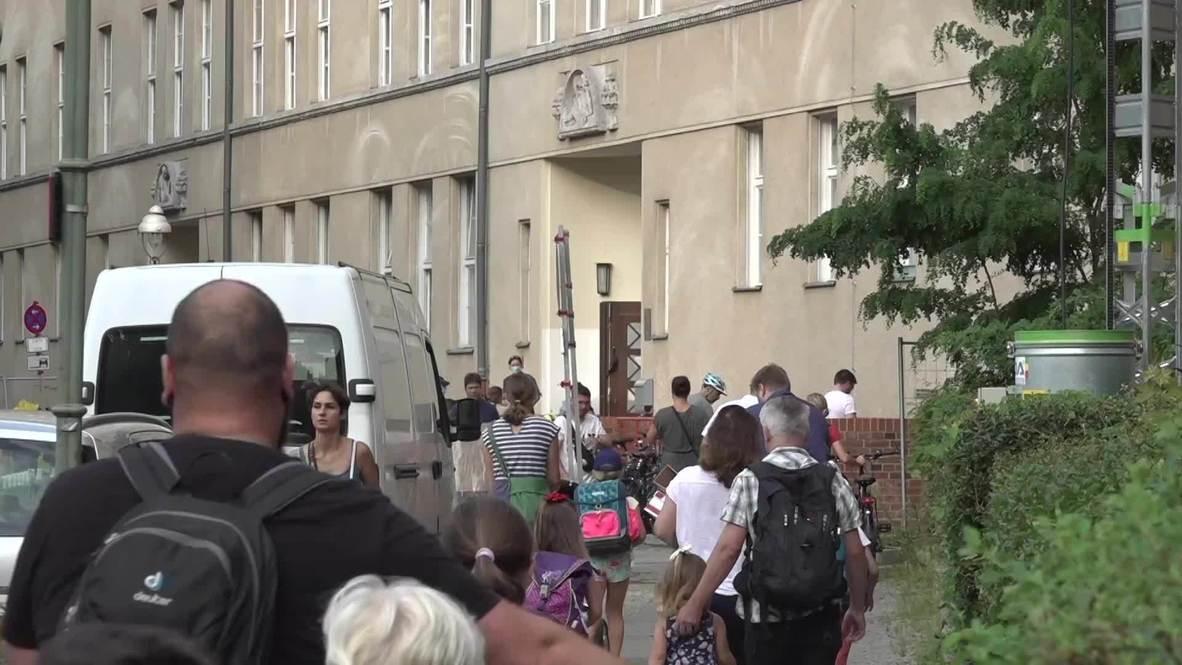 Alemania: Alumnos de Berlín vuelven a las aulas con mascarillas tras la reapertura de centros educativos