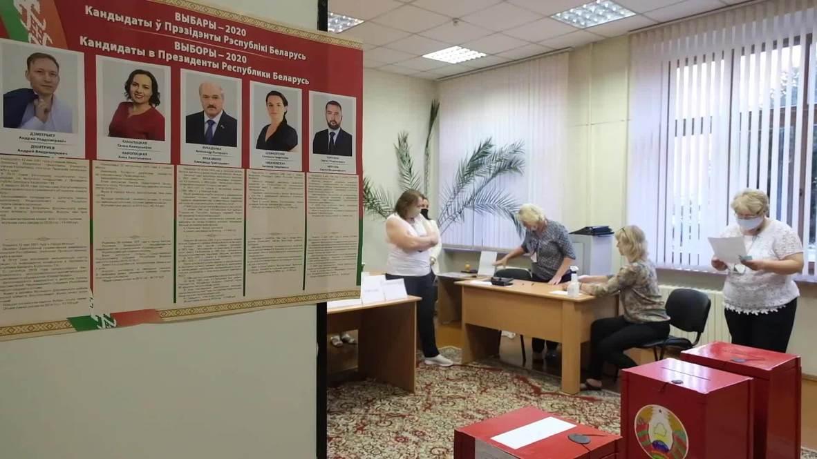 Белоруссия: В Минске продолжается подсчет голосов избирателей по итогам президентских выборов