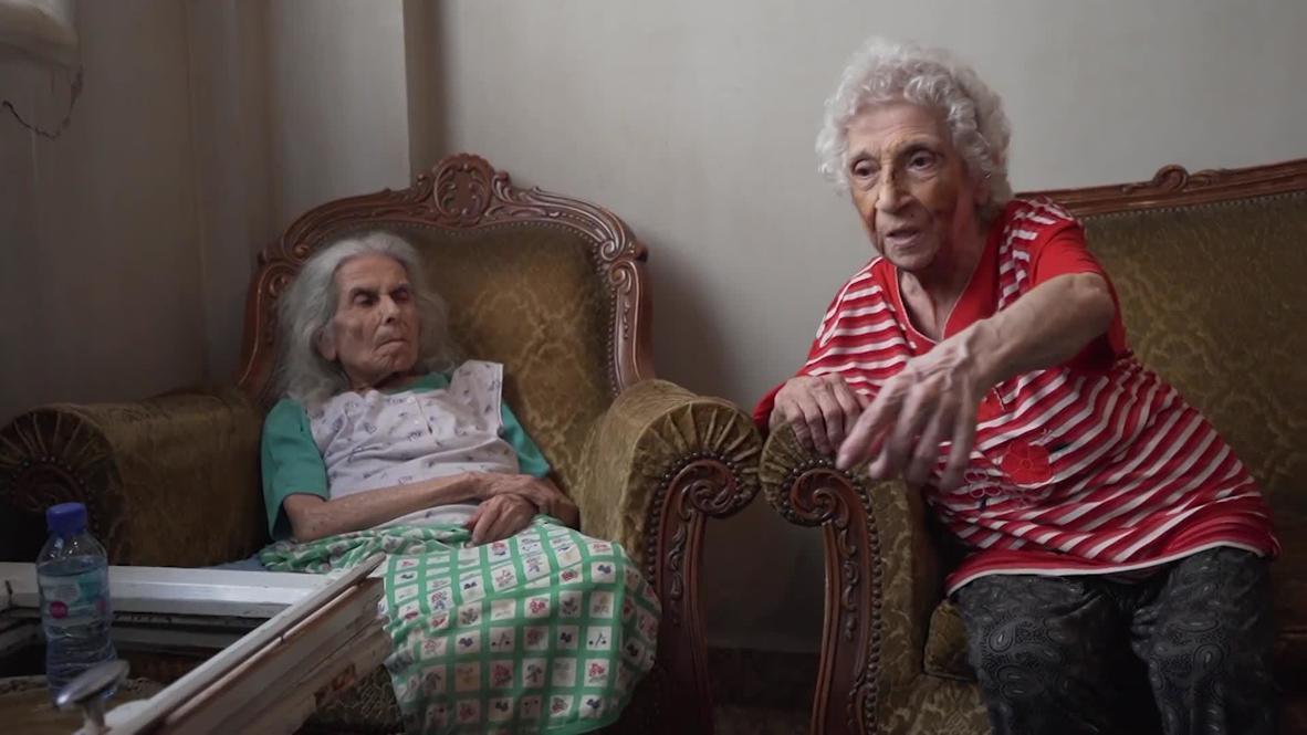 Lebanon: 'Windows fell on me' - elderly woman recounts surviving Beirut blasts *EXCLUSIVE*