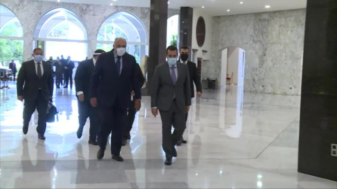 لبنان: وصول وزيري خارجية مصر والأردن إلى بيروت