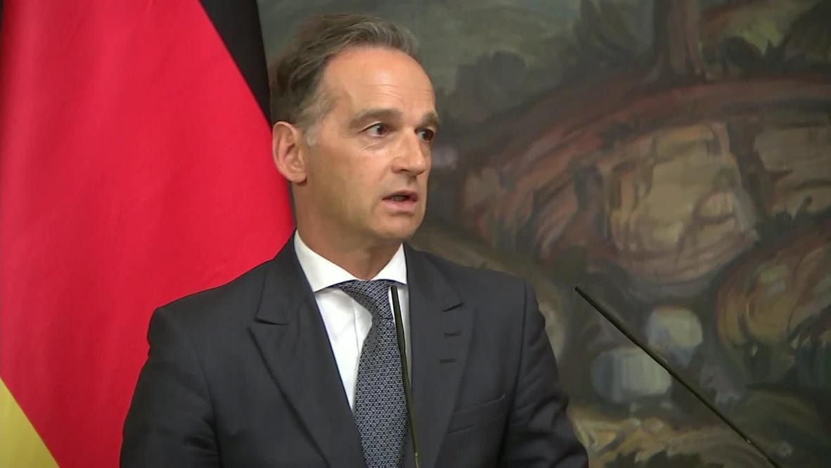 روسيا: وزير الخارجية الألماني يلتقي نظيره الروسي ويرد على التهديدات الأمريكية ضد السيل الشمالي-2