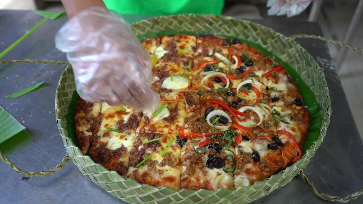 Restaurante filipino rompe moldes para ayudar a los tejedores locales a ganarse la vida
