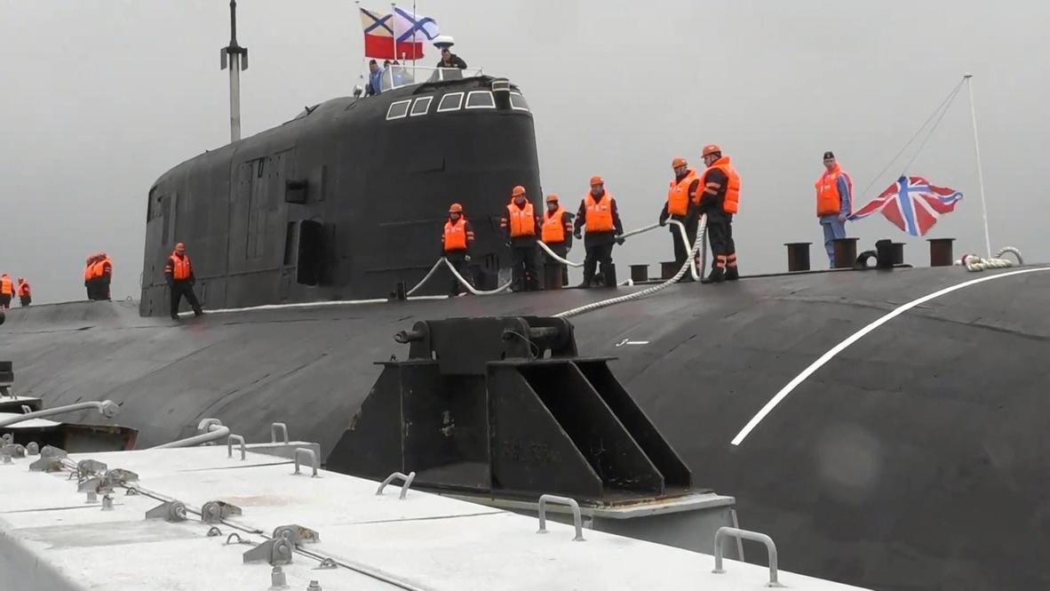 """Россия: На Камчатку вернулся атомный подводный крейсер """"Омск"""""""