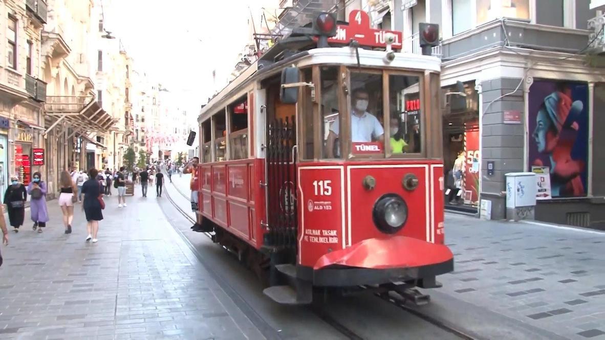 """هذا بحرنا"""".. سكان إسطنبول يتفاعلون مع الأزمة التركية اليونانية في البحر الأبيض المتوسط"""