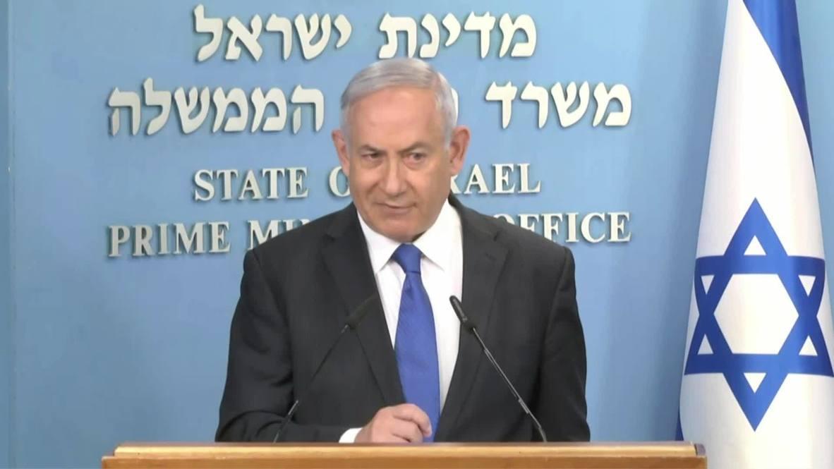 """Israel: Netanyahu se muestra """"muy optimista"""" tras sellar el acuerdo de paz con los EAU"""
