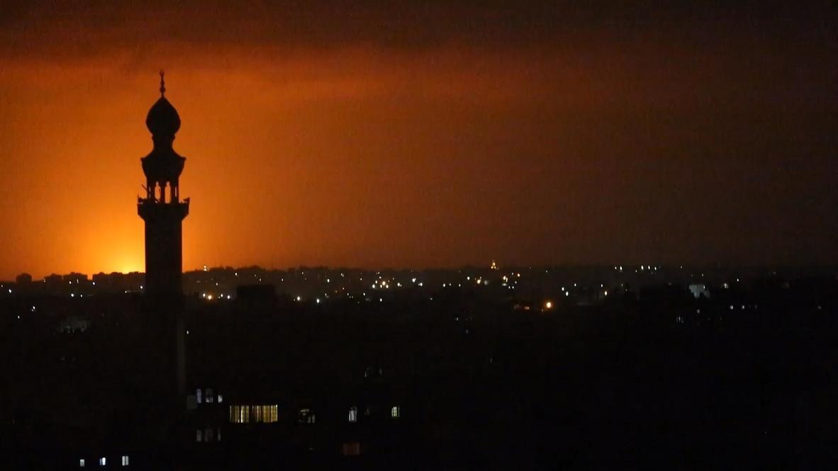 دولة فلسطين: القوات الإسرائيلية تشن غارات جوية على غزة ردا على إطلاق بالونات حارقة من القطاع