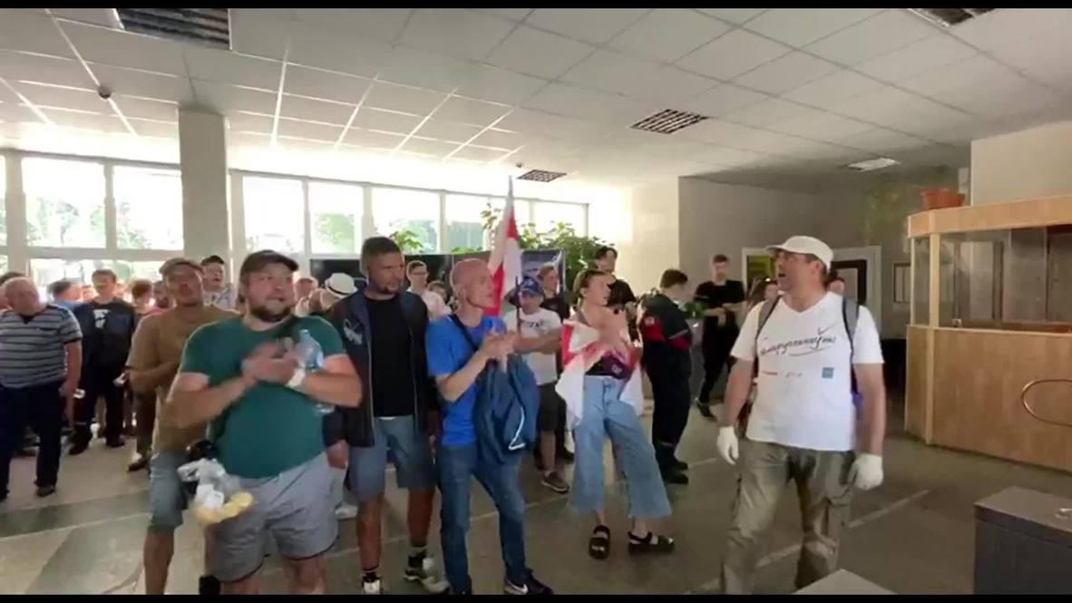 Bielorrusia: Trabajadores de una fábrica piden a sus colegas que se unan a las protestas contra Lukashenko