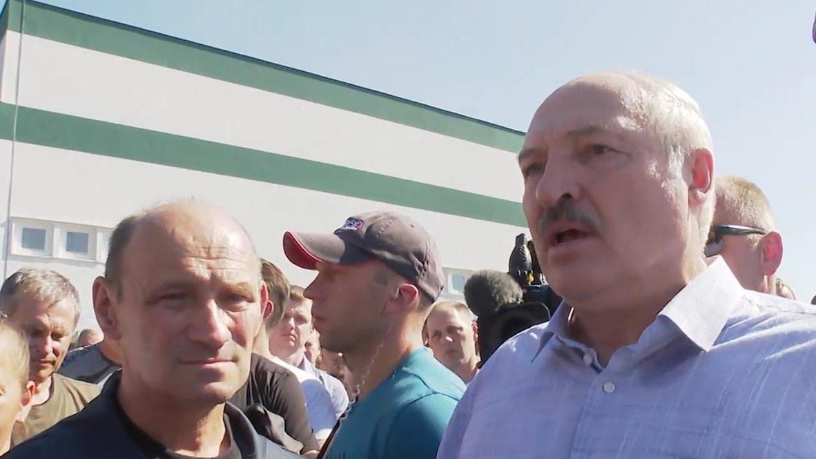 """Белоруссия: """"Под давлением президент не должен принимать решение"""" - Лукашенко про передачу своих полномочий"""