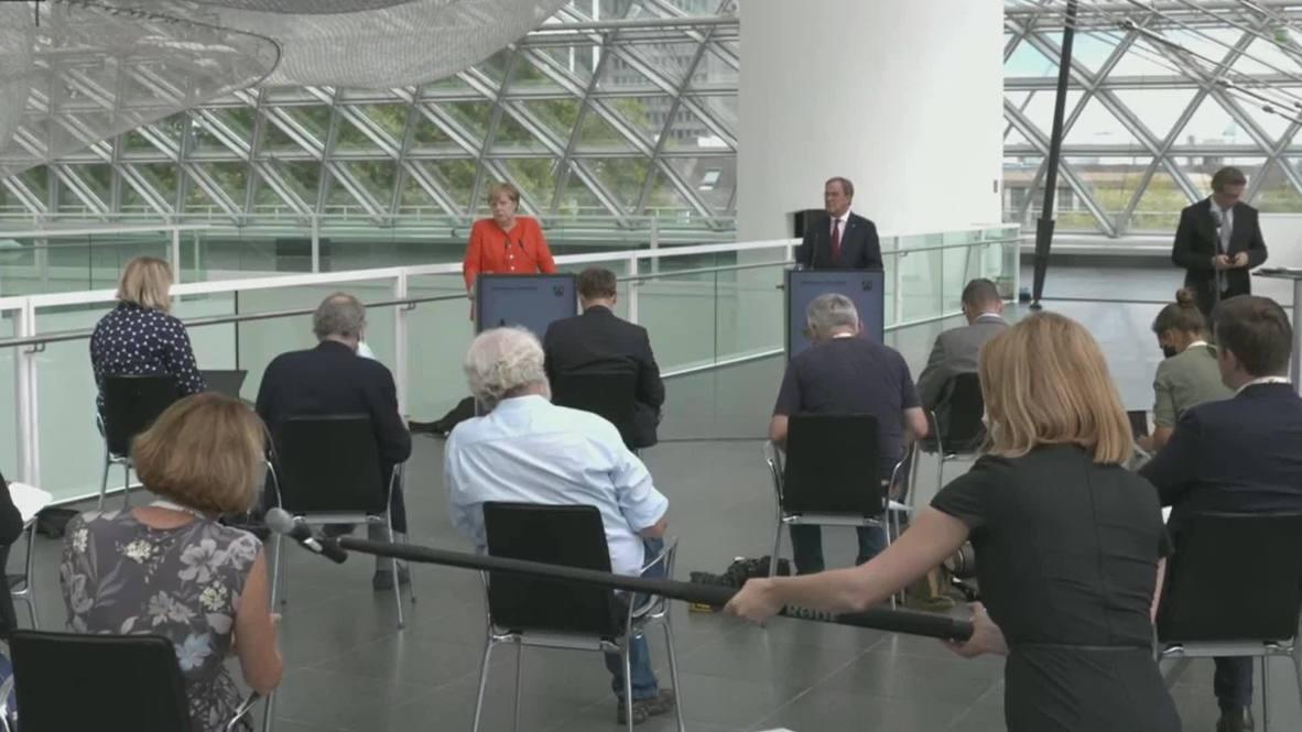 Germany: Merkel urges 'national dialogue' in Belarus ahead of emergency European Council meeting