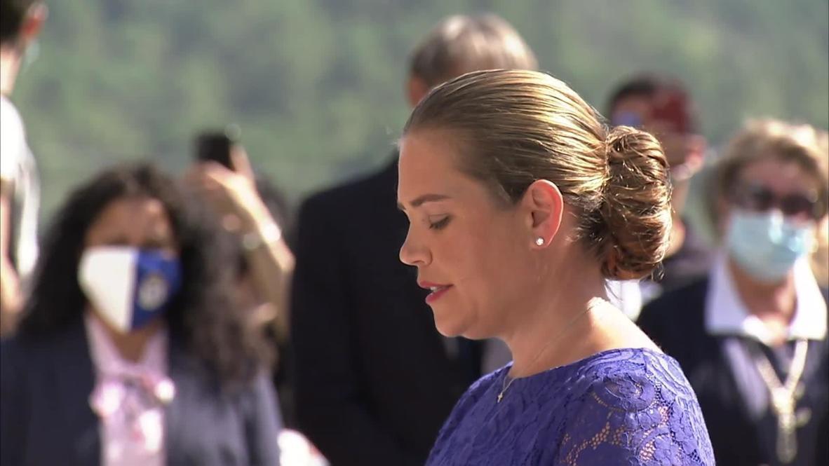 Italy: Estate agent sworn in as Princess Nina of Seborga, micronation seeking independence