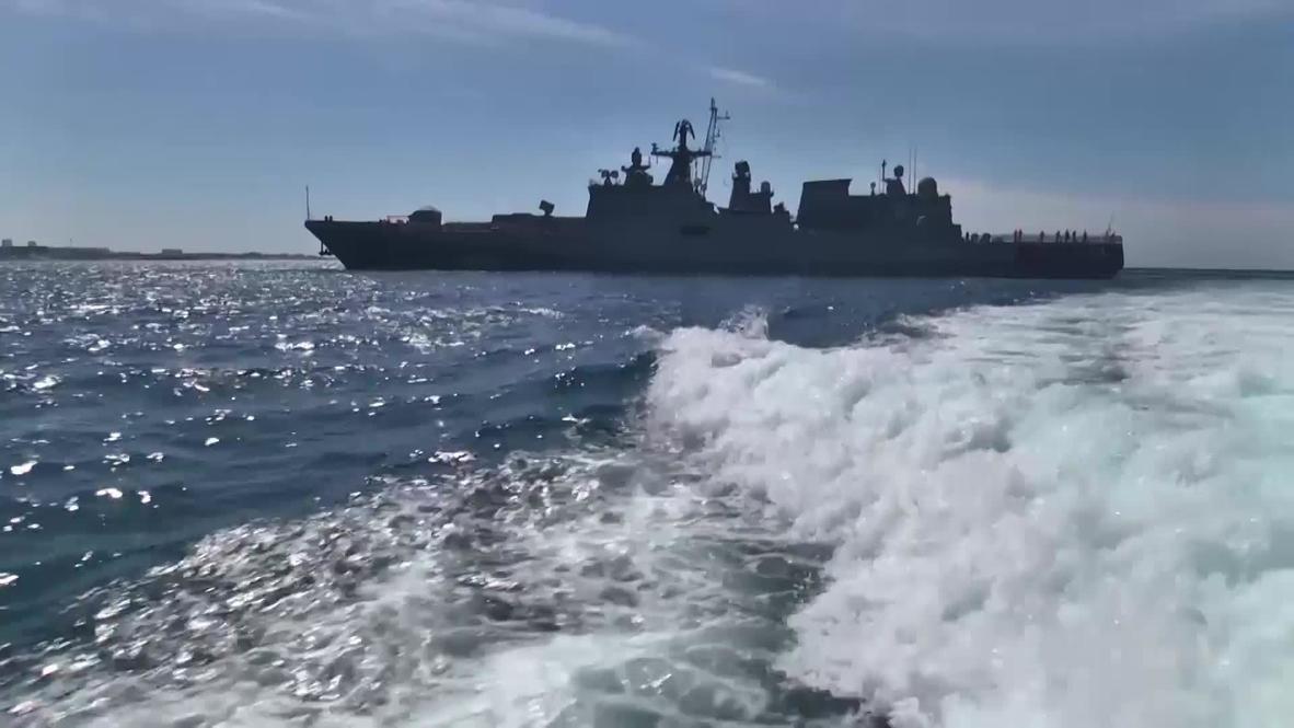 Россия: Корабли ЧФ и морская авиация провели учения в Черном море