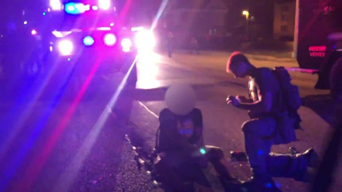 EE.UU.: Hombre sufre herida de gravedad en el brazo tras tiroteo en Kenosha *GRÁFICO*