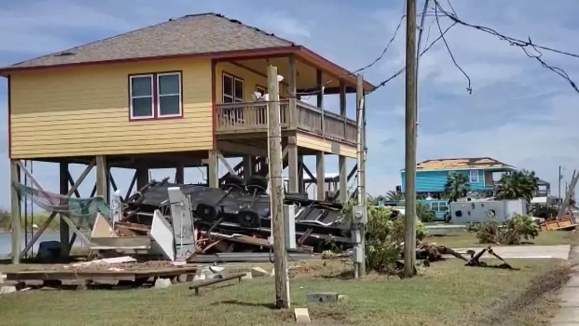 الولايات المتحدة الأمريكية: إعصار لاورا يلحق الدمار بولاية هيوستن