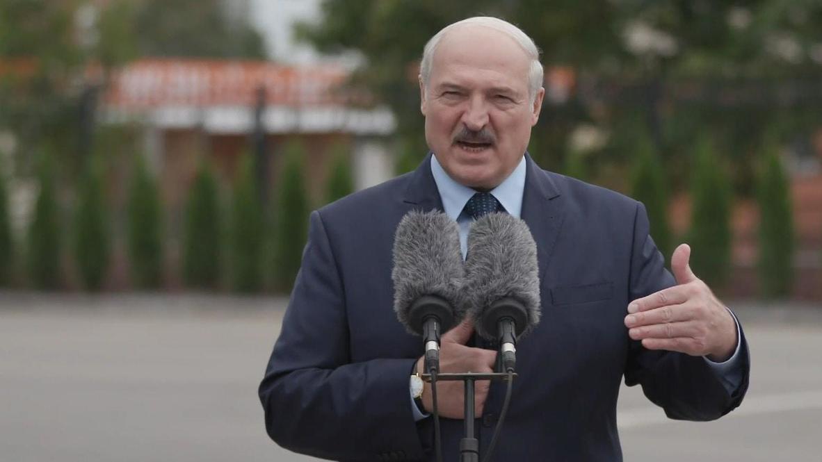 """Белоруссия: """"Мы им покажем, что такое санкции"""" - Лукашенко отреагировал на заявления Литвы и Польши в адрес Минска"""