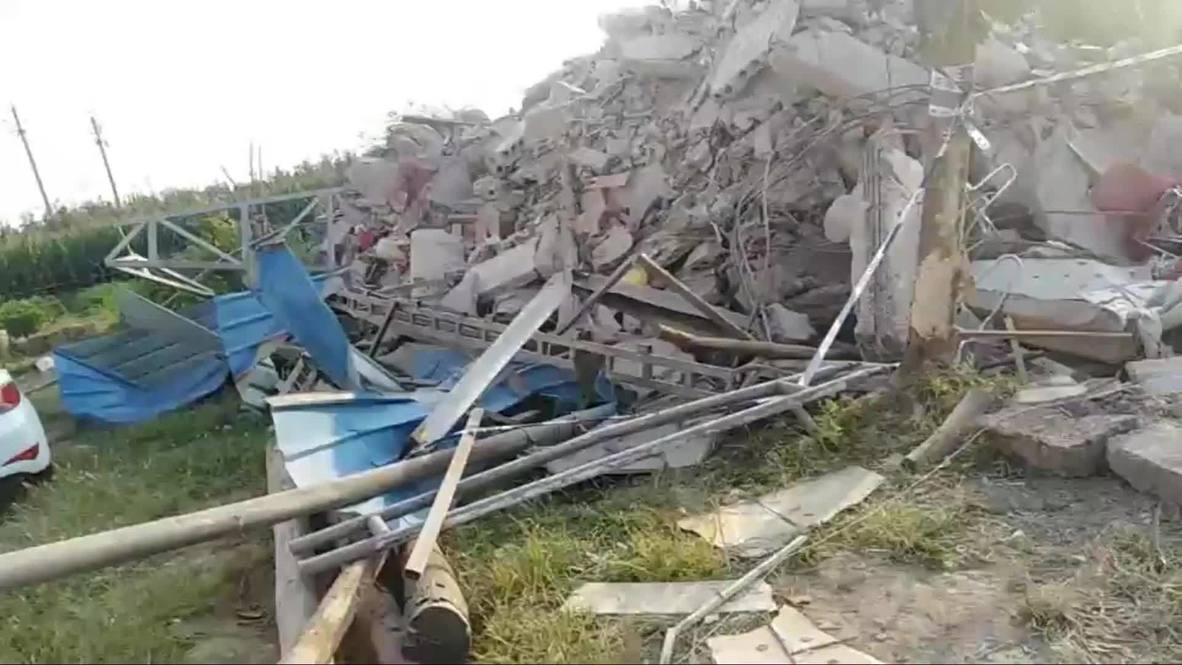 Китай: Минимум 29 человек погибли в результате обрушения ресторана во время праздника
