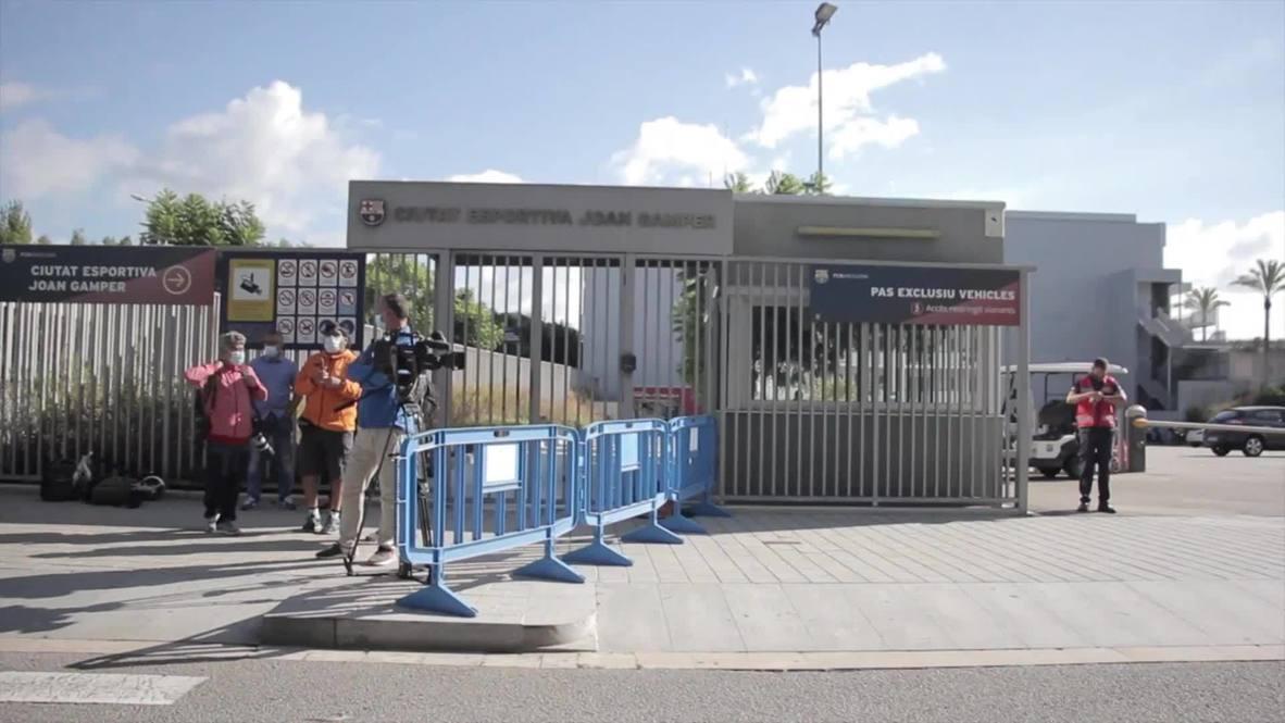 إسبانيا: ميسي يتغيب عن الفحوصات الطبية لفريق برشلونة
