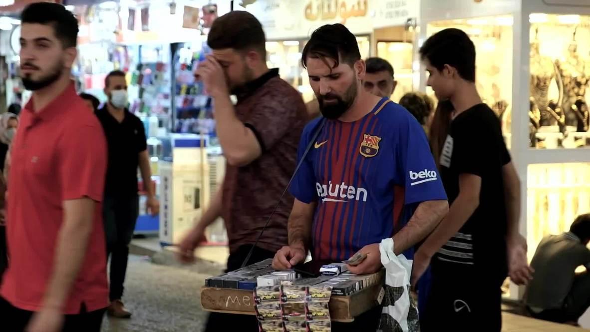 Messi doppelganger spotted selling cigarettes in Iraqi Kurdistan