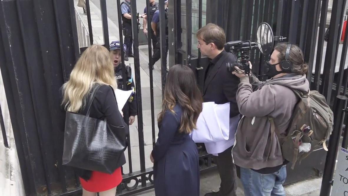 المملكة المتحدة: أنصار أسانج في داونينغ ستريت يتلقون رفض التماسهم بشأن ترحيله