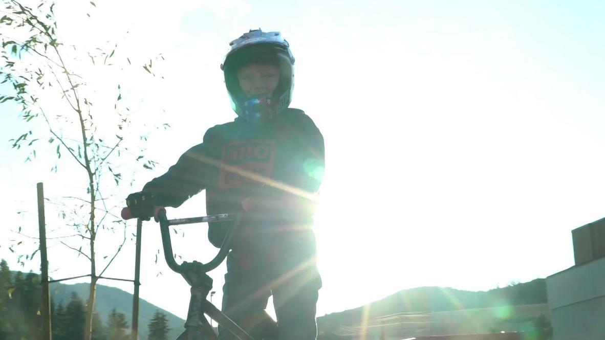Meet Connor Stitt, 9-year old BMX star whose stunning backflip went viral