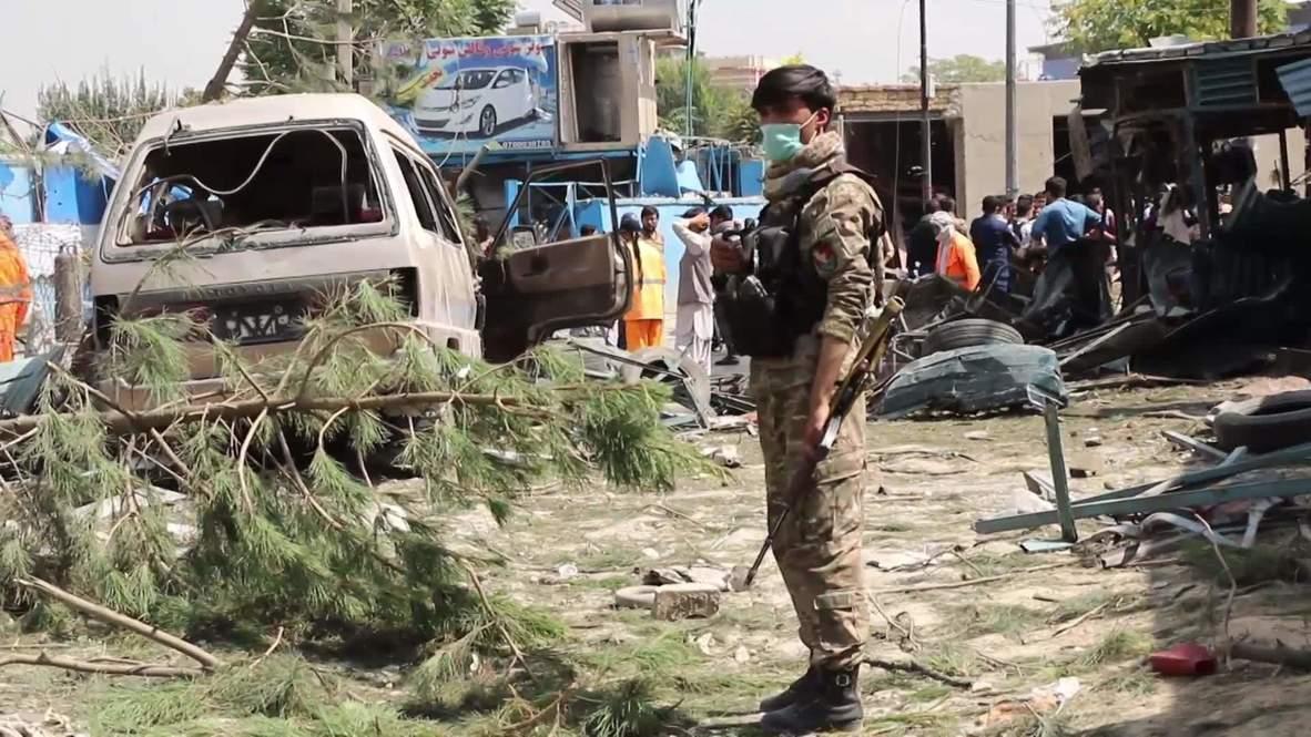 أفغانستان: مقتل عشرة أشخاص على الأقل جراء هجوم بقنبلة استهدف موكب نائب الرئيس الأفغاني
