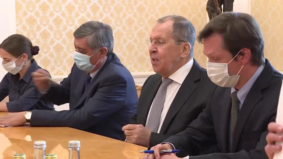 Россия: Лавров провел встречу с министром иностранных дел Индии